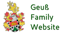 Geuß Family Website